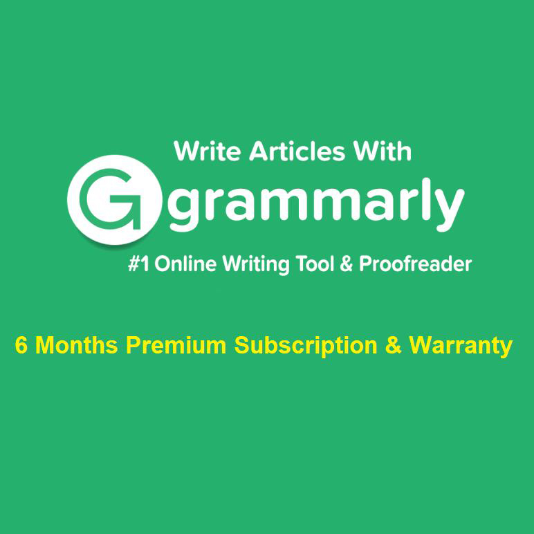 12 Month Warranty Lifetime Account Instant Delivery Grammarly Premium Moderate Price